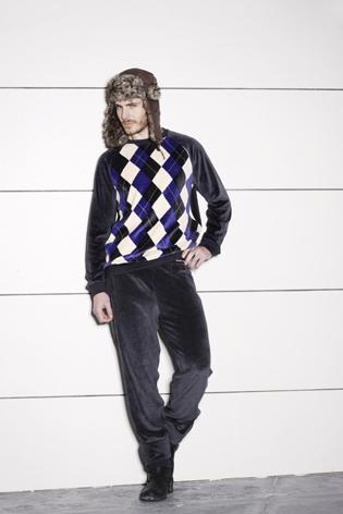 pijama rombos para hombre de la marca Estivella