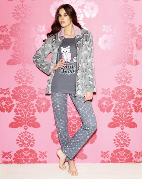 Conjunto pijama + bata Promise