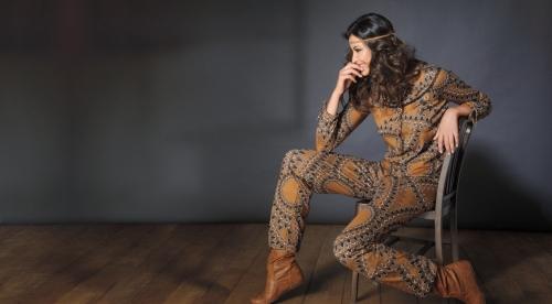 pijama de la colección automne indien de antigel