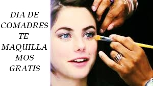 maquillaje gratis en Pespunttes