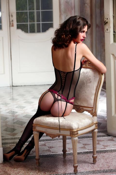 corpiño sexy de Lise Charmel