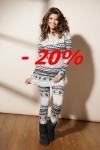pijama antigel 20% dedescuento