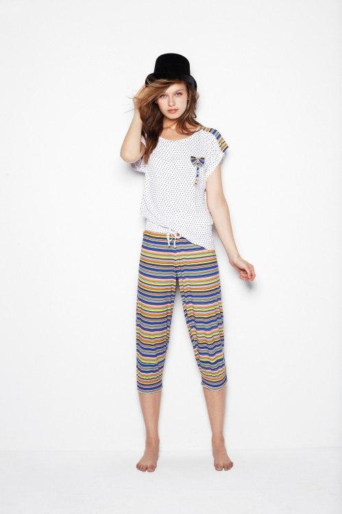 pijama con pantalon pirata de la marca Promise