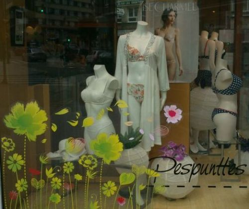 Escaparate en Pespunttes