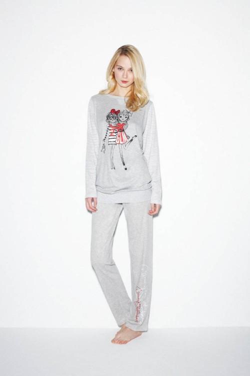 pijama_gris_promise_con dibujo