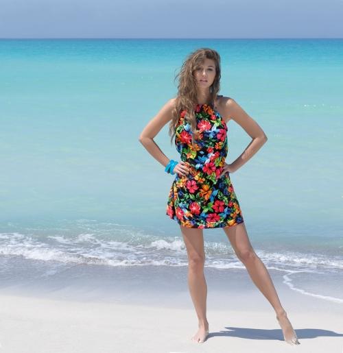 La Flirt des Îles_vestido_playa_Antigel_2014