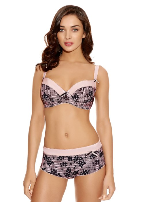 FIFI-BALLET-PINK-UNDERWIRED-PADDED-HALF-CUP-BRA-1043-SHORT-1046-F