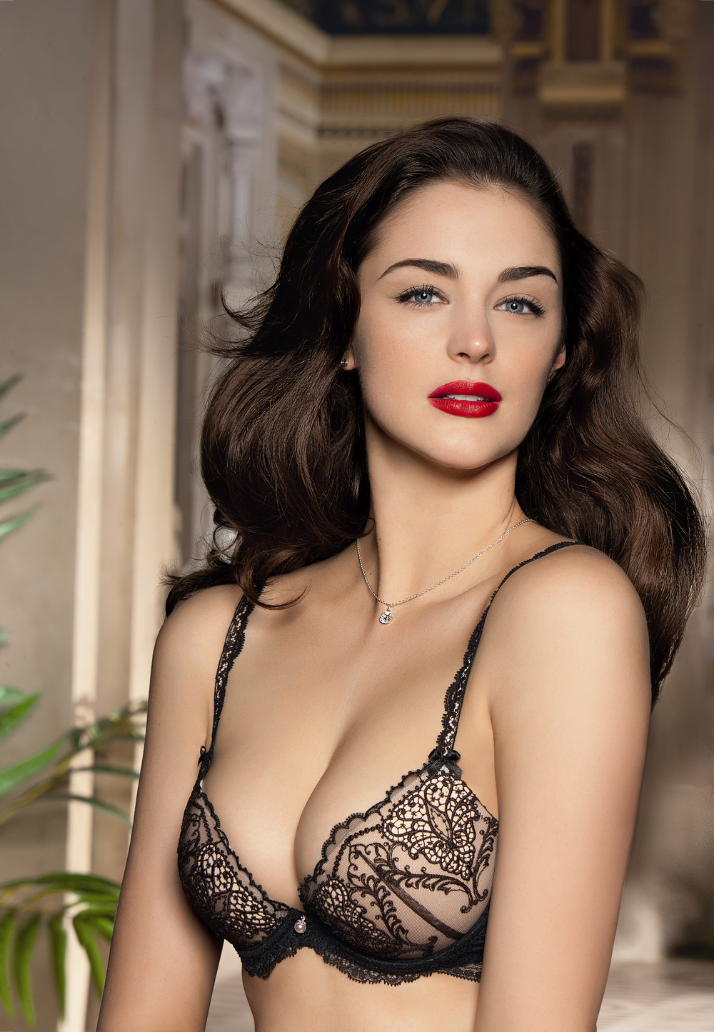 Elegante mujer madura sexy sofisticada