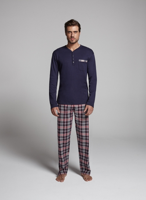 promise_pijama_cuadros_hombre