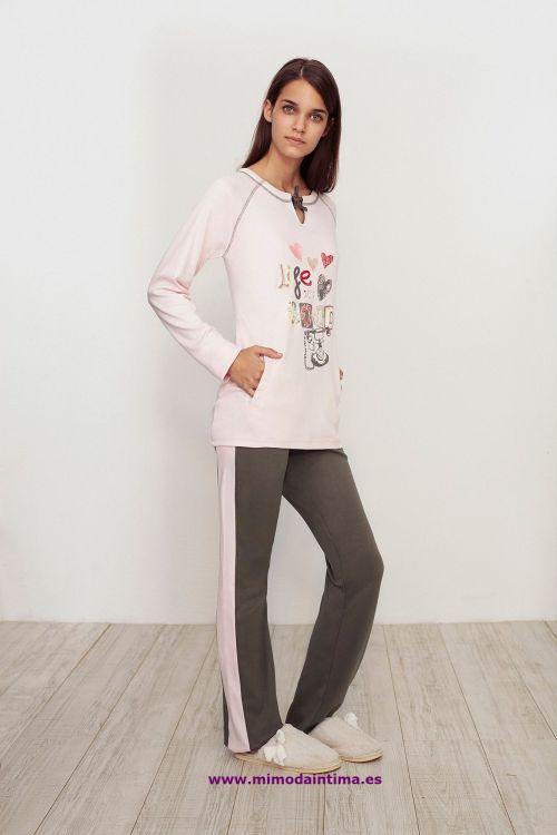 pijama_promise_rosa_verde
